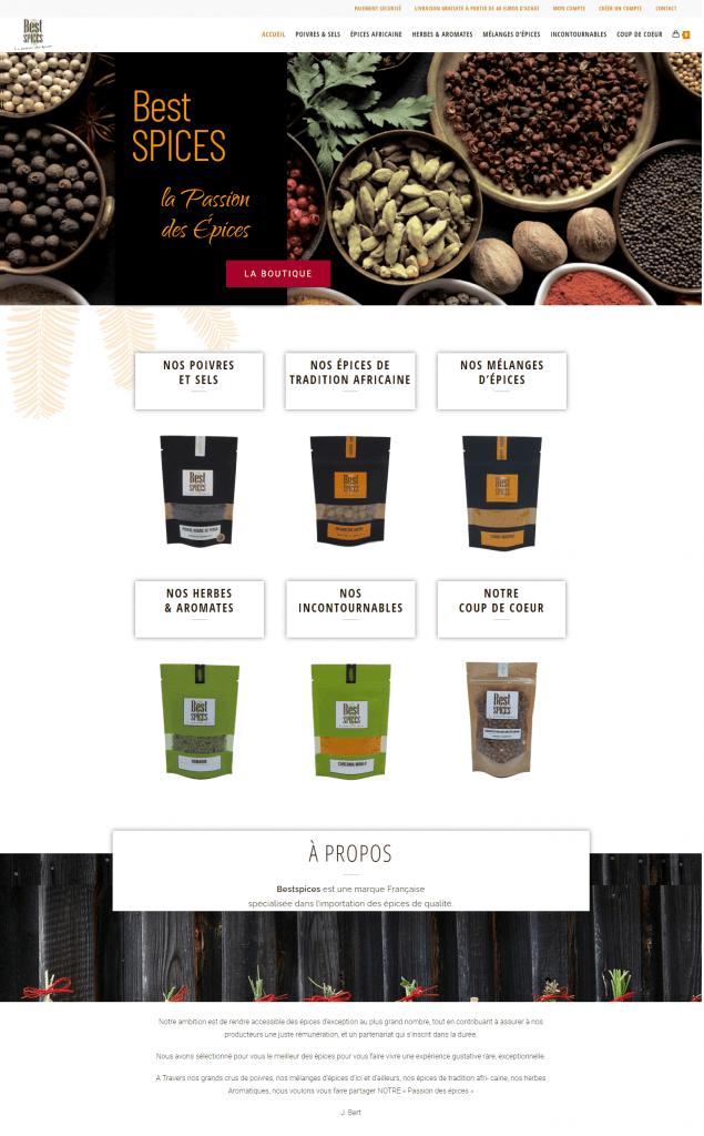 creation de site internet - pour e-commerce