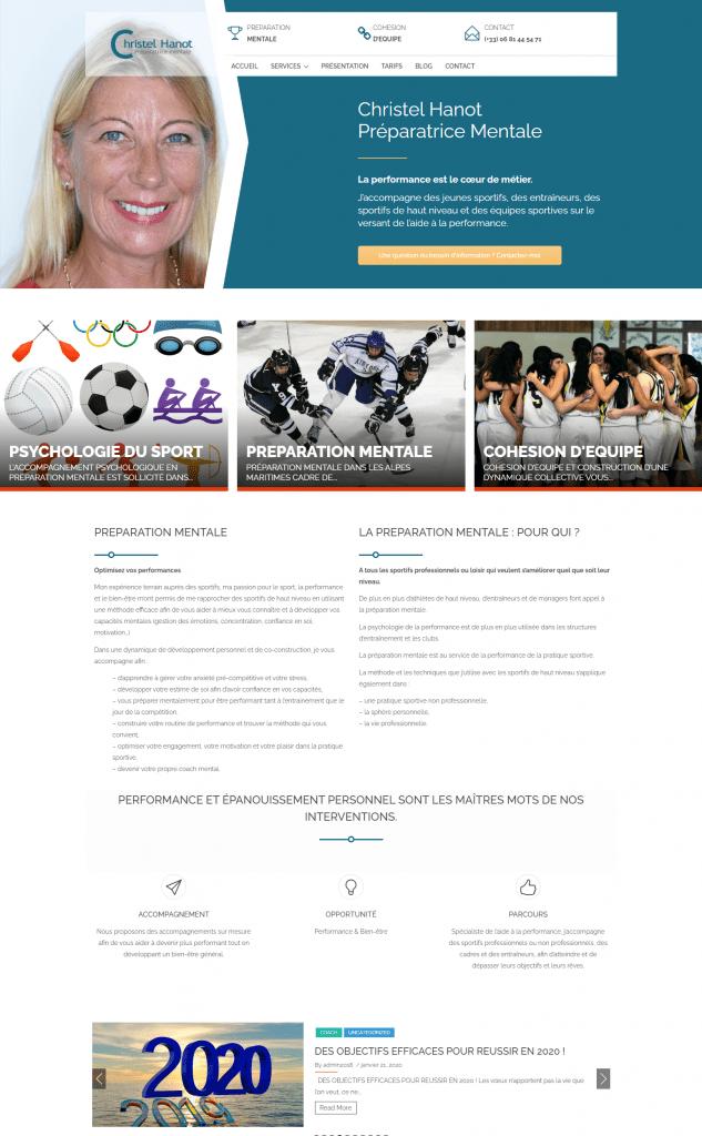 creation de site internet - pour preparateur mental