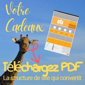 Votre Cadeaux - PDF structure de site Internet