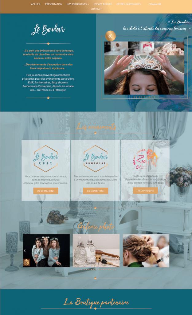 Creation de site internet - Evenements - E-commerce