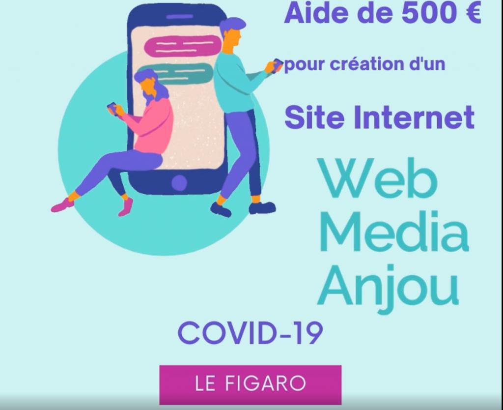 500 euros pour aider les commerçants à se digitaliser / créer un site internet