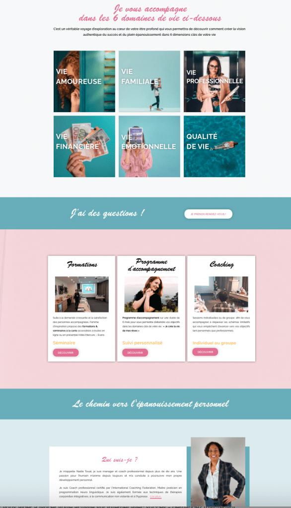 creation de site internet pour formations