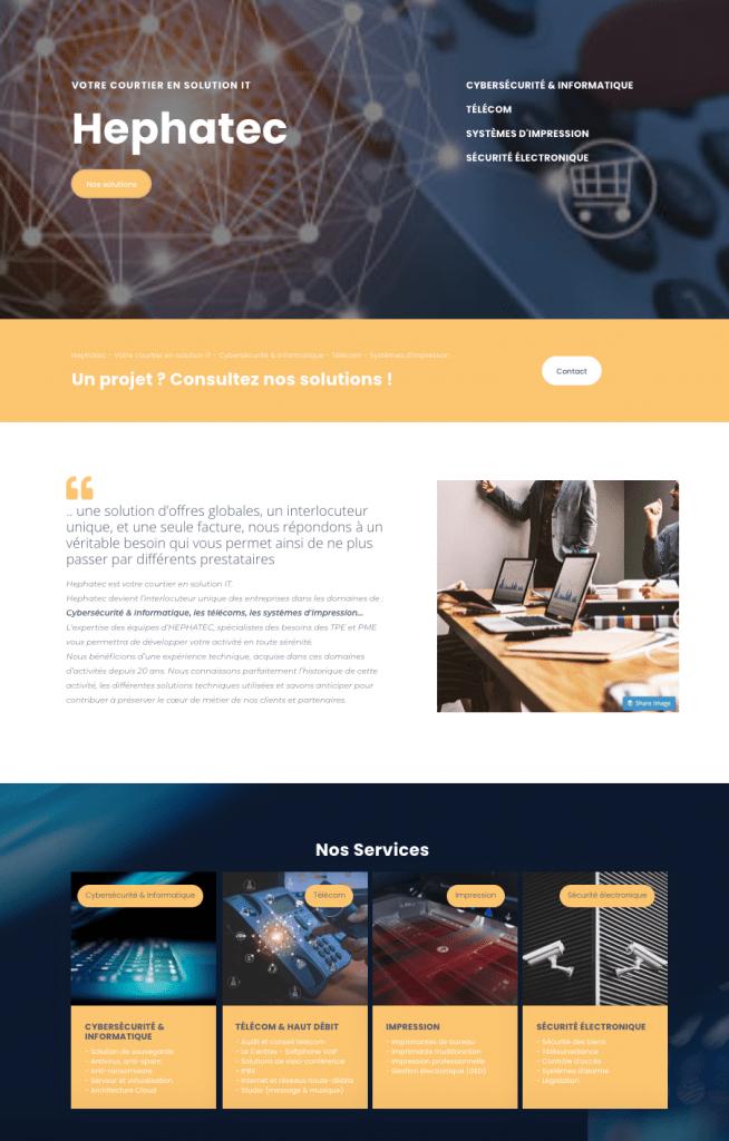 creation de site internet TPE PME