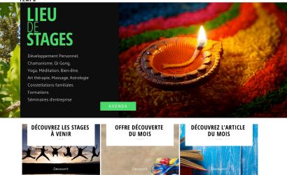 CREATION SITE INTERNET VITRIN- ANGERS - EVENEMENTS